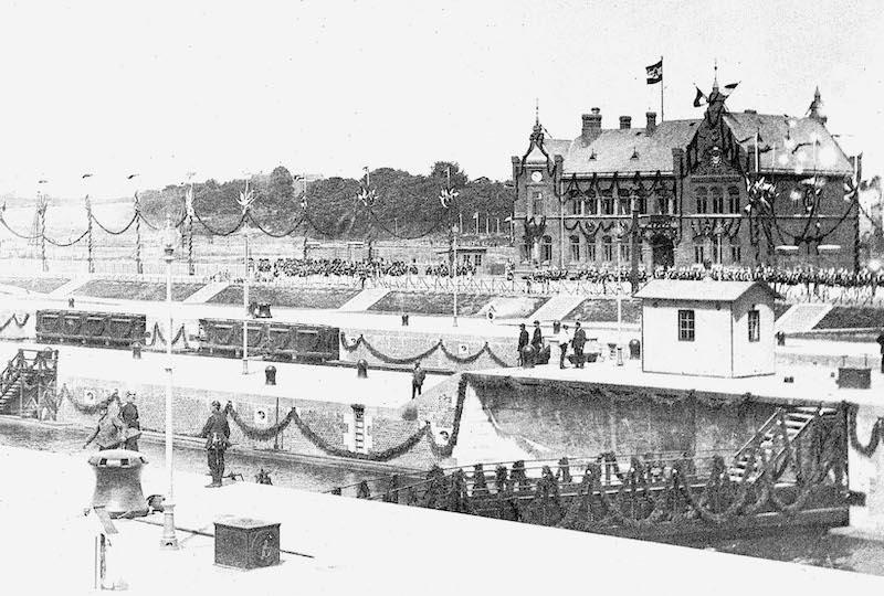 historische Bilder Nord-Ostsee-Kanal |Quelle: WSA Kiel-Holtenau