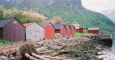 Fresvik, Sognefjord, Kodak Ektar