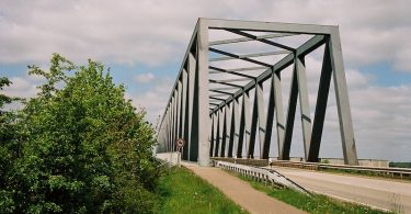 Grünentaler Hochbrücke Nord-Ostsee-Kanal | ©mare.photo