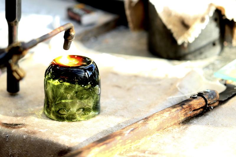 Dans Glaskunst Sydals, Glaspusteri på Als |©weites.land