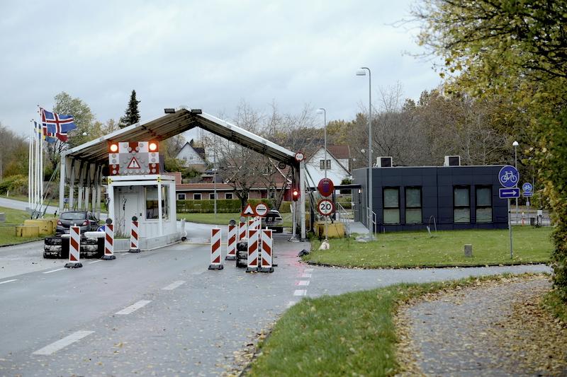 Grenzübergänge Deutschland-Dänemark, Grenzübergang Harrislee-Pattburg (Padborg)