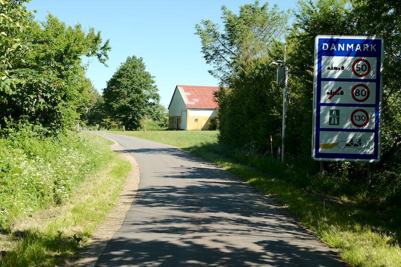 Grenzübergang Bögelhuus – Lille Jyndevad, Grenzübergänge Dänemark Deutschland