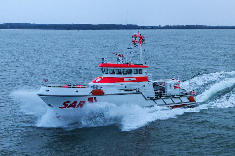 Seenotrettungskreuzer SK 41 der Deutschen Gesellschaft zur Rettung Schiffbruechiger (DGzRS)