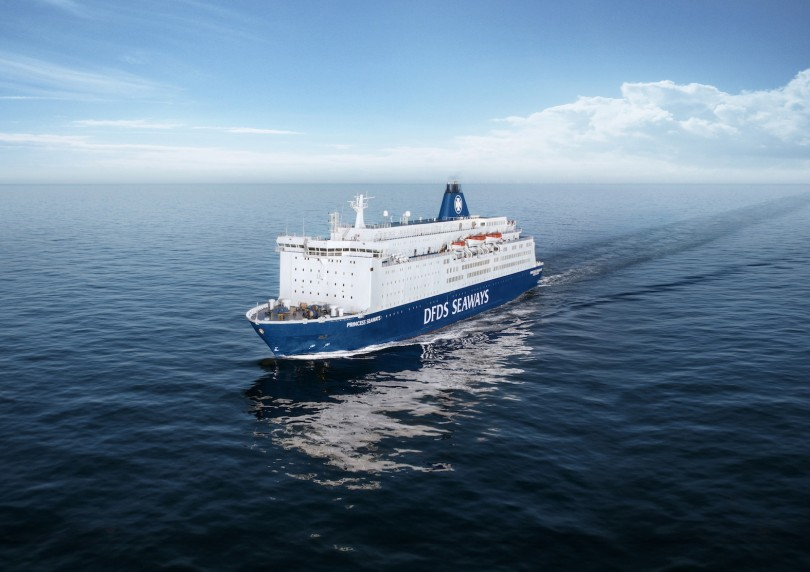 DFDS Princess Seaways Amsterdam–New Castle   © DFDS