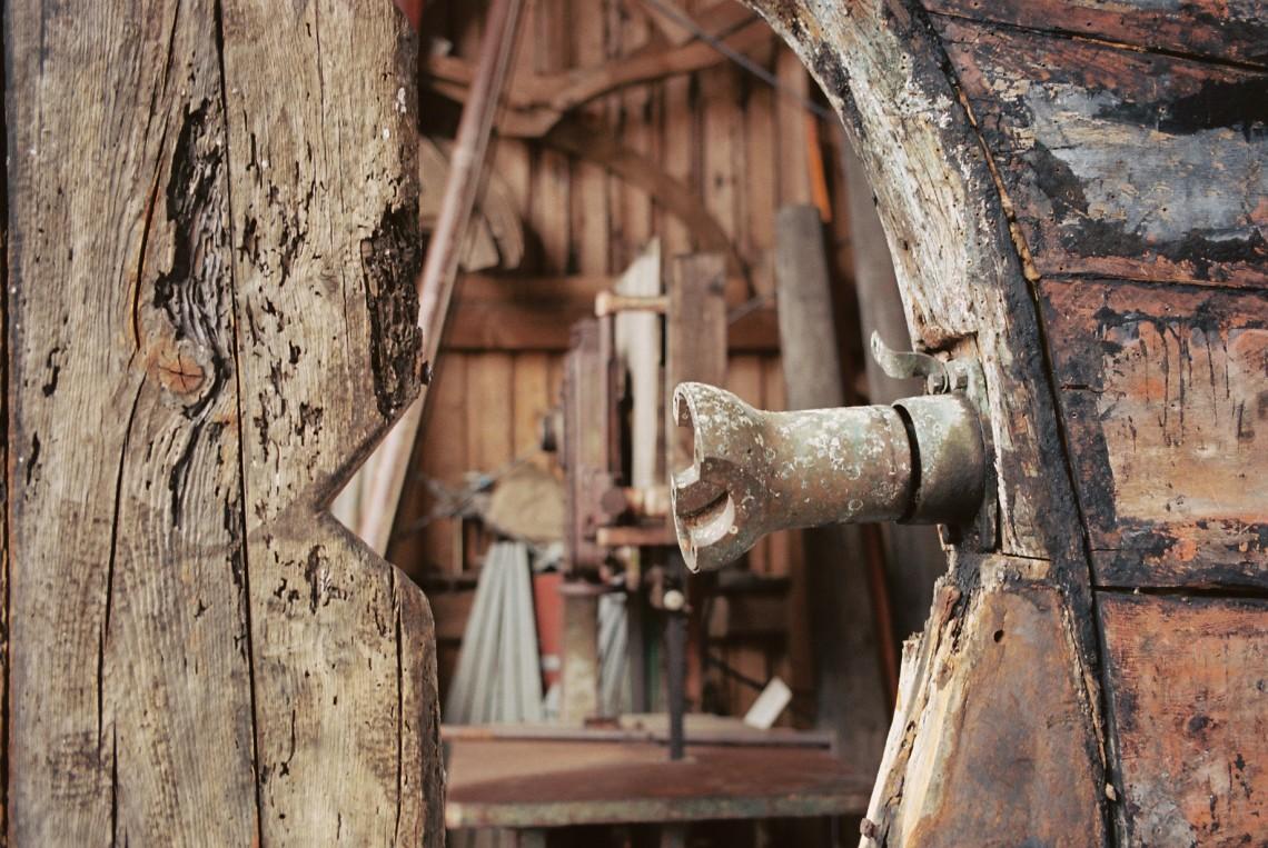 Museumswerft Flensburg, aufgenommen mit Leica M7 und Summicron 2.0 35 apsh auf Kodak Ekart 160 new   © mare.photo