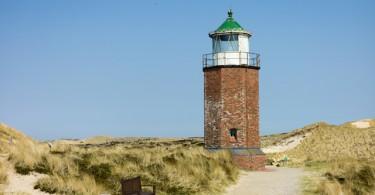 Leuchtturm Rptes Kliff auf Sylt