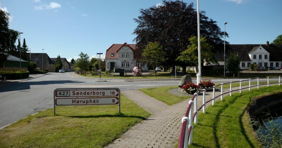 Gendarmstien, Skovby, Flensburger Förde, Hørup Hav
