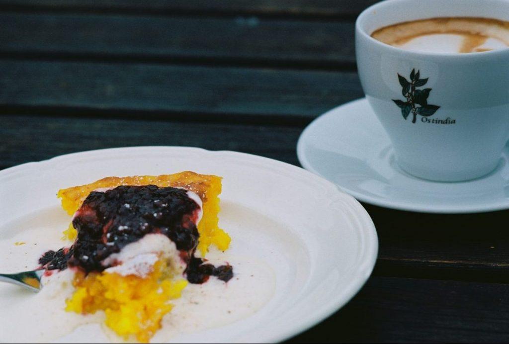 Safrankuchen, Saffranspannkakor. Gotlandpfannkuchen