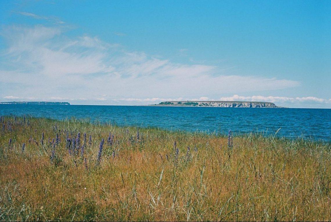 Ekstakusten, Gotland mit Blick auf Store Karlsö und Lille Karlsö  ©mare.photo