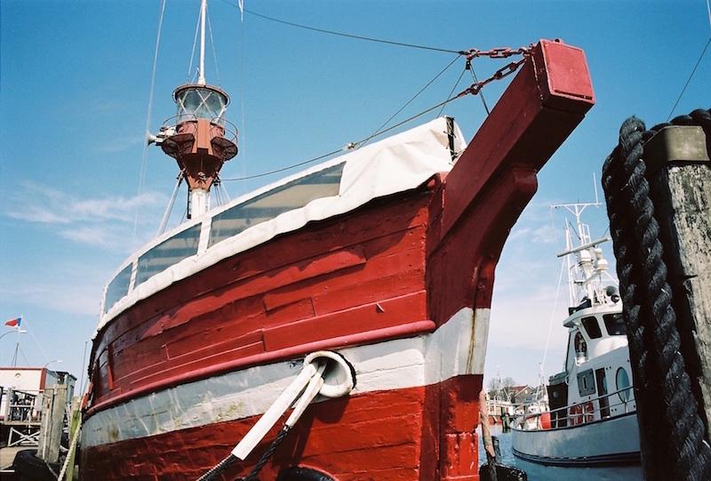 Feuerschiff Laesoe Rende in Heikendorf. Fotografiert mit Leica M7 + Summilux 1.4 50 asph. new auf Kodak Portra 160 |©mare.photo